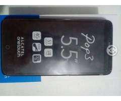 Alcatel pop 3 5.5 pulgadas. 4G LTE.