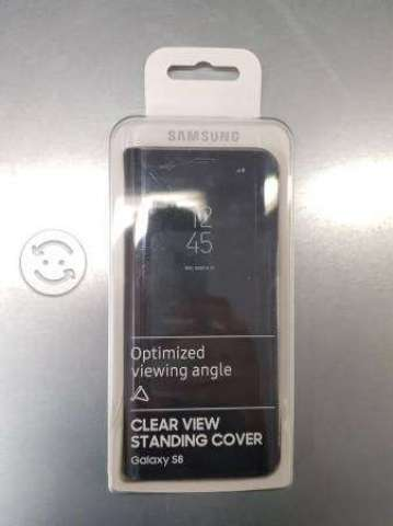 Clear view Standing cover Samsung S8