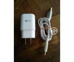 Cargador y cable USB pra Lg G5