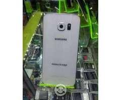 Samsung Galaxy S6 Edge BLANCO TRATO DE 10