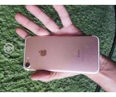 Iphone 7 de 32 gigas rosa libre v/camb
