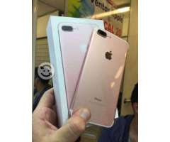 Iphone 7 plus 32gb rose gold nuevo libre