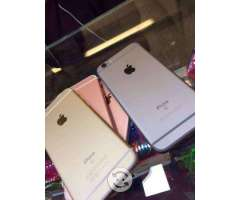 IPhone 6s 16gb libres 4g 9.7 de 10