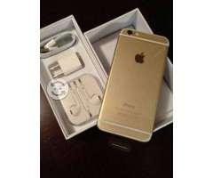 Iphone 6 dorado de 64gb