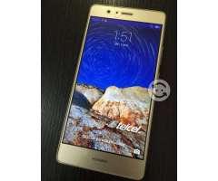Huawei P9 lite dorado libre de compañía