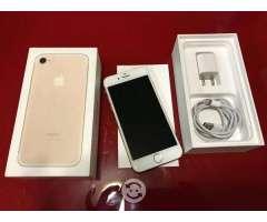 V/C iPhone 7 128gb libre dorado