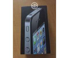 IPhone 4 negro de 8 GB