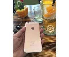 Iphone dorado 6s de 128 gb