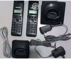 Telefono Inalambrico Doble Panasonic