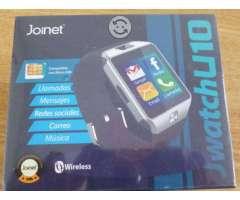 Smartwatch bluetooth micro sim, touch, camara