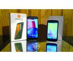 V/C Moto G4 DUAL SIM y Huawei Ascend Libres