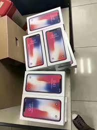 NEW APPLE  IPHONE X 64GB , 256GB SILVER OR SPACE GREY.