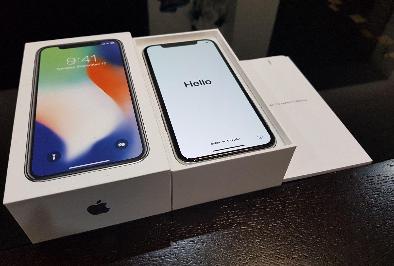 New Original Apple Iphone X 256GB Unlocked
