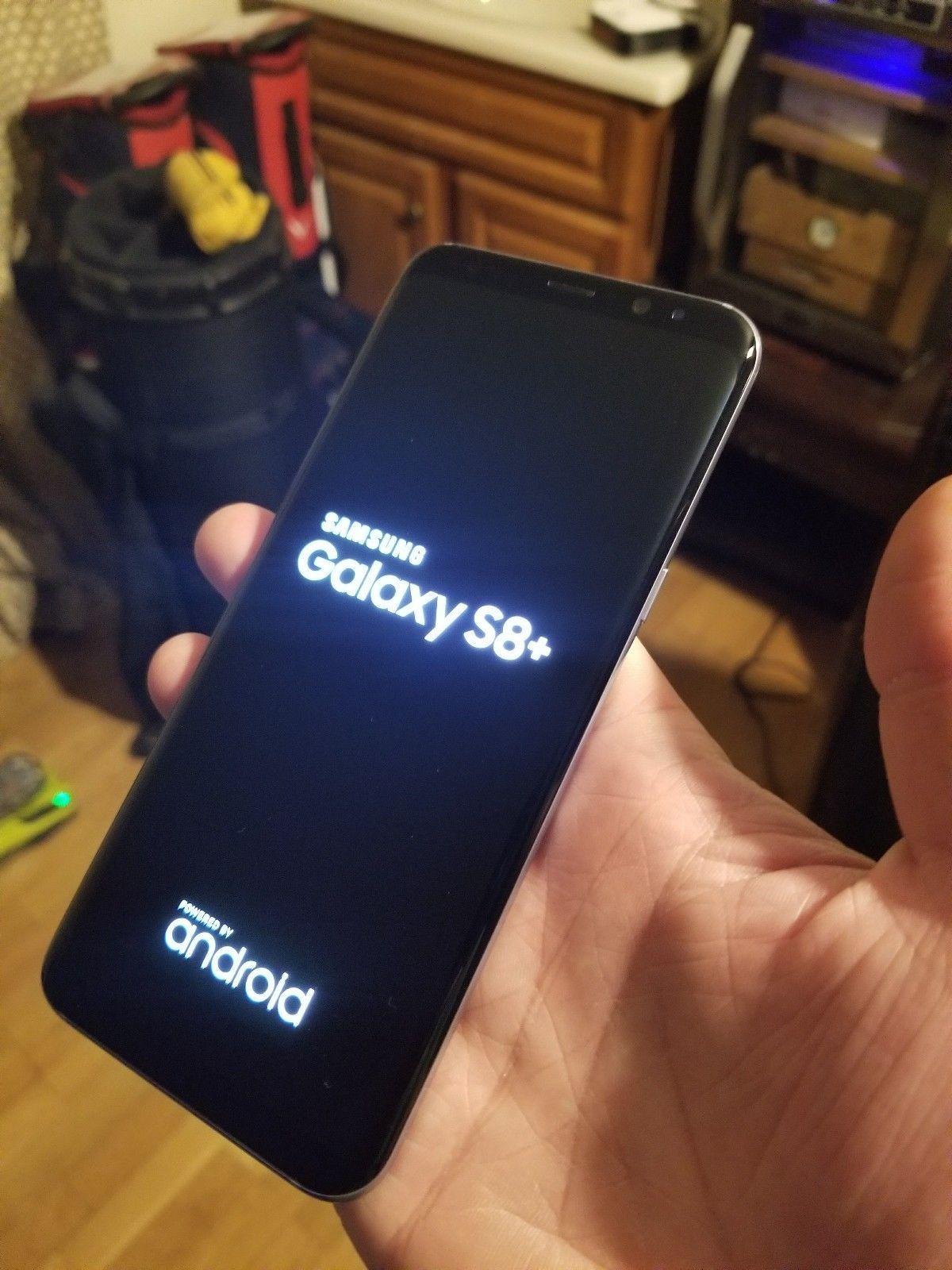 New Original Samsung S8 Más 256gb Negro