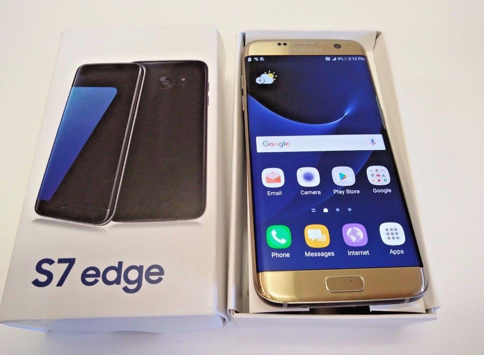 New Original Samsung S7 Más 256gb Negro