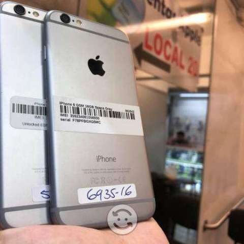 IPhone 6 16gb libres