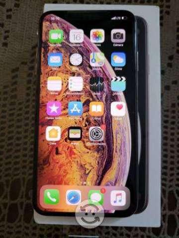 Iphone xs max de 64 dorado libre nuevo