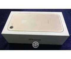IPhone 7 128gb Gold Telcel Con caja