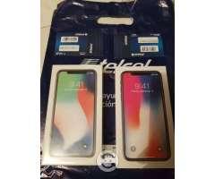 Iphone x 64Gb blanco y negro