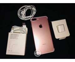 IPhone 7 Plus rose gold 128 gb
