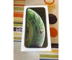 IPhone XS 64GB NEGRO NUEVO SELLADO