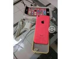 IPhone 5c 8gb almacenamiento