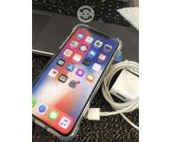 Iphone X 64gb Color negro / semi nuevo