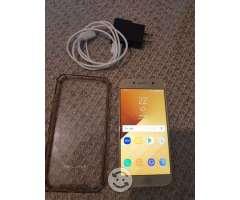 Galaxy A5 2017 dorado libre estado