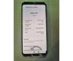 Samsung S8 plus liberado